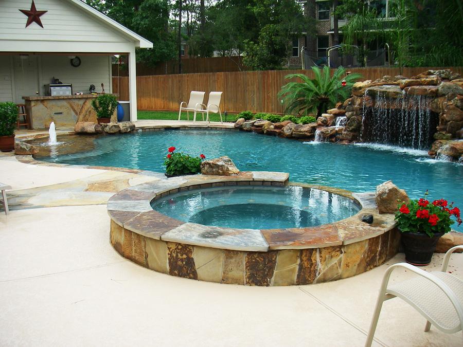 New pool construction team aqua pools for New pool installation